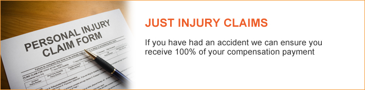 Personal Injury - If you have had an accident we can ensure you receive 100% of your compensation payment - Just Legal Group