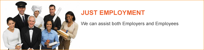Just Employment - We can assist both Employers and Employees - Just Legal Group