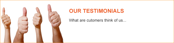 Testimonials - What are customers think of us - Just Legal Group